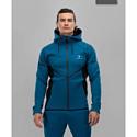 Мужской спортивный джемпер FIFTY FA-MJ-0102-BBL blue/black р-р M