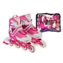 Роликовые коньки Favorit 500-PN-L pink/white р-р 38-41 (L)