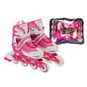Роликовые коньки Favorit 500-PN-S pink/white р-р 30-33 (S)