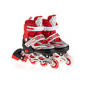 Роликовые коньки Mondays 8101-L-RD red/white/black р-р 38-41 (L)