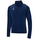 Джемпер тренировочный детский Jogel Camp Training Top 1/4 Zip navy blue р-р YL