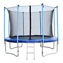 Батут Bebon Sports с защитной сеткой и лестницей 366 см 12472S2NL