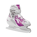 Коньки ледовые раздвижные Roces Swish 1.0 Girl 450630/36 white/pink р-р 36-40