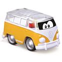 Bburago Машинка BB Junior Volkswagen Samba Poppin bus 16-85109 yellow