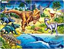 """Larsen, Норвегия Larsen """"Динозавры"""", 57 элементов, NB3"""