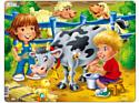 """Larsen, Норвегия Larsen """"Дети на ферме"""", 18 элементов, BM5"""