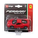 """BBurago, Италия Машинка металлическая BBURAGO """"Ferrari 458 Italia"""" 1:43, 18-36001(3)"""