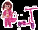 """Dream Makers, Беларусь Игровой набор Little You """"Кукла Лиза на самокате"""" , 259-LY"""