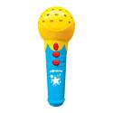 """Азбукварик, Китай Игрушка музыкальная Азбукварик Микрофон с огоньками """"Песенки для малышей"""", желтый"""