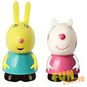 """Peppa Pig, Китай Игровой набор Peppa Pig """"Сьюзи и Ребекка"""", 10см, 25069"""
