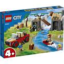 LEGO, Дания Конструктор LEGO City 60301: Спасательный внедорожник для зверей, 60301