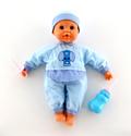 """FALCA, Испания Кукла """"Пупс"""": озвученная, сосёт соску, пьёт из бутылочки (38 см), 38442"""