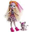 "Enchantimals, Голландия Мини-кукла Enchantimals ""Зейди Зебра"" с питомцем (15 см), GTM27"