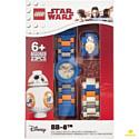8020929 Наручные часы Star Wars BB-8 с минифигуркой Lego