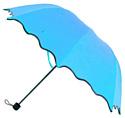 Зонт с проявляющимся рисунком BRADEX (SU 0066) голубой