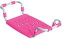 Сиденье в ванну НИКА СВ5 (розовый)