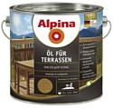 Alpina Oel fuer Terrassen (Темный) 2,5 л