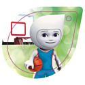 Брелок сувенирный 5 ЭЛЕМЕНТ Баскетбол № 17