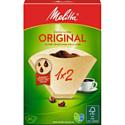 Комплект фильтров для кофеварок Melitta Original 1x2/80