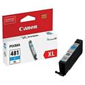 Картридж Canon CLI-481XL C для Canon PIXMA TR7540, Canon PIXMA TR8540, Canon PIXMA TS6140, Canon PIXMA TS8140, Canon PIXMA TS9140