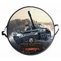 """ЛЕДЯНКА """"World of Tanks"""" круглая"""
