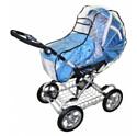 Дождевик силиконовый на липучке для классических колясок (люлек) арт.011