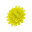 Антибактериальная силиконовая мочалка ROXY-KIDS SUNFLOWER арт. RSB-002