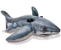 """Intex 57525 Надувная игрушка-наездник 173х107см """"Акула"""" от 6 лет"""