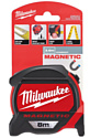 Рулетка магнитная Magnetic Tape Premium (8 м) Milwaukee (4932464177)