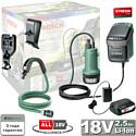 Беспроводной полив GardenPump 18 аккумуляторный BOSCH (06008C4200)