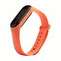 China Ремешок для фитнес-браслета Xiaomi Mi Band 2 оранжевый