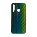 """EXPERTS Силиконовый чехол """"AURORA GLASS CASE"""" для Huawei Honor 10i с LOGO зеленый"""