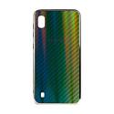 """EXPERTS Силиконовый чехол """"AURORA GLASS CASE"""" для Samsung Galaxy A10 с LOGO зеленый"""