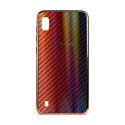 """EXPERTS Силиконовый чехол """"AURORA GLASS CASE"""" для Samsung Galaxy A10 с LOGO красно-черный"""