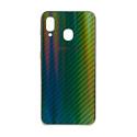 "EXPERTS Силиконовый чехол ""AURORA GLASS CASE"" для Samsung Galaxy A20 / A30 с LOGO зеленый"