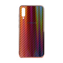 """EXPERTS Силиконовый чехол """"AURORA GLASS CASE"""" для Samsung Galaxy A70 с LOGO красно-черный"""