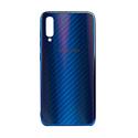 "EXPERTS Силиконовый чехол ""AURORA GLASS CASE"" для Samsung Galaxy A70 с LOGO синий"