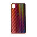 """EXPERTS Силиконовый чехол """"AURORA GLASS CASE"""" для Xiaomi Mi A3 / Xiaomi Mi CC9e с LOGO красно-черный"""
