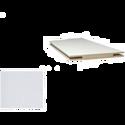 Добор «ProfilDoors» L, LK, Белый люкс, 244х15х1 см