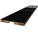 Добор «ProfilDoors» L, LK, Черный люкс, 244х15х1 см