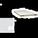 Добор «ProfilDoors» L, LK, Белый люкс, 244х10х1 см