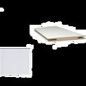 Добор «ProfilDoors» L, LK, Белый люкс, 275х10х1 см