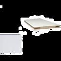 Добор «ProfilDoors» L, LK, Белый люкс, 207х15х1 см
