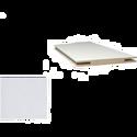 Добор «ProfilDoors» L, LK, Белый люкс, 244х20х1 см
