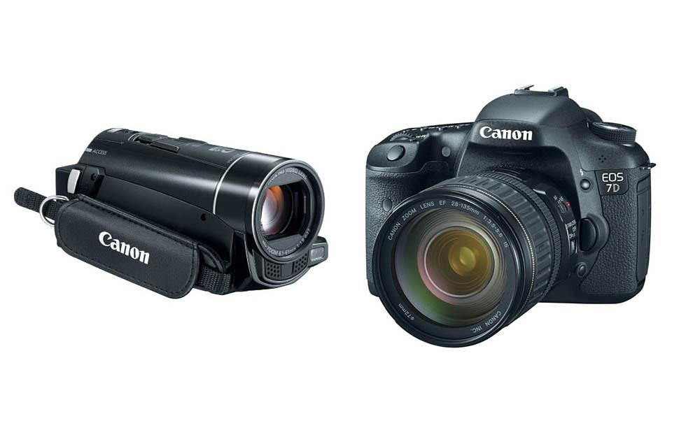 Цифровой фотоаппарат против видеокамеры: что лучше снимает видео?