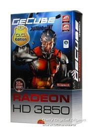 GeCube HD3850: всё дело в наряде