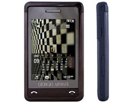 Обзор мобильного телефона Samsung Armani