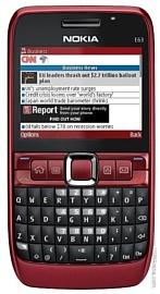 Nokia E63: актуальная «Е»кономичность