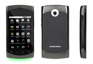 Один из самых доступных смартфонов на базе Android 2.2: Highscreen Cosmo