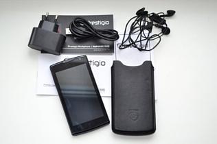 Обзор смартфона Prestigio Multi Phone PAP 4500 DUO